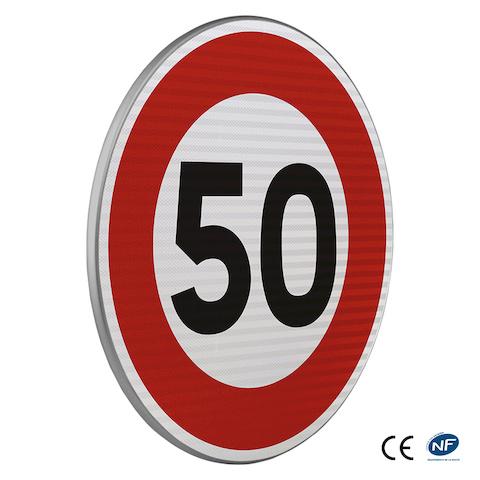 panneau d 39 interdiction b14 limitation de vitesse. Black Bedroom Furniture Sets. Home Design Ideas