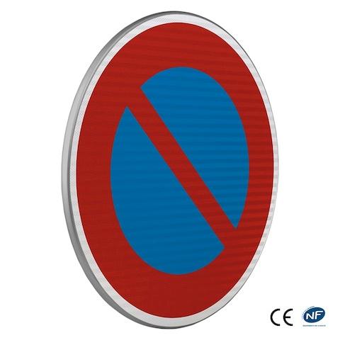 panneau de stationnement b6a1 entr e dune zone stationnement interdit. Black Bedroom Furniture Sets. Home Design Ideas