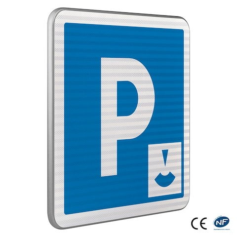 panneau d 39 indication c1b parking zone bleue. Black Bedroom Furniture Sets. Home Design Ideas