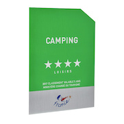 Panonceau Camping loisirs - 4 étoiles