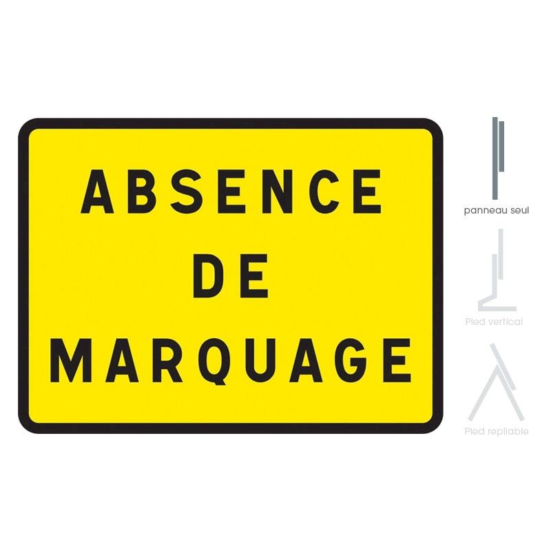 Panneau De Chantier Kc1 Absence De Marquage