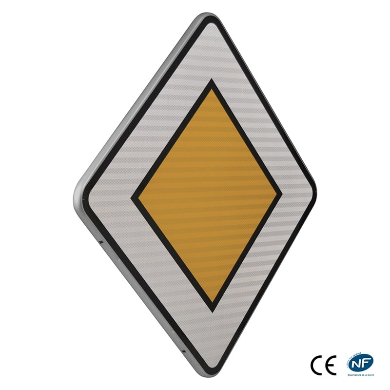 panneau d 39 intersection et priorit ab6 indication du caract re prioritaire d 39 une route. Black Bedroom Furniture Sets. Home Design Ideas
