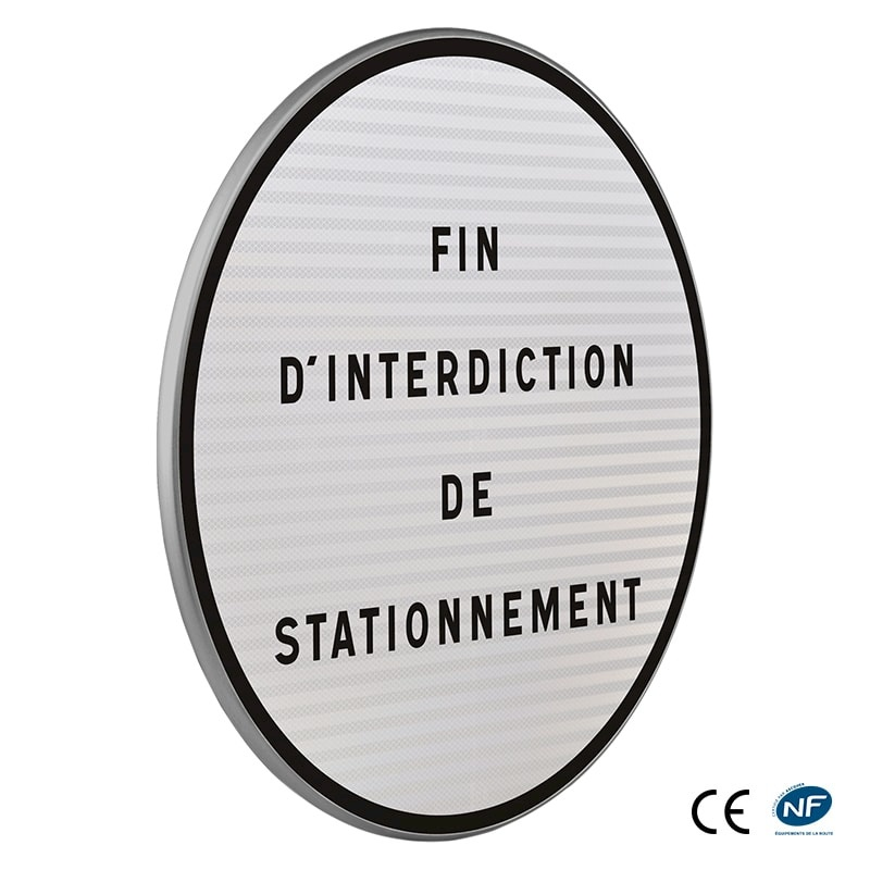 Panneau B39 - Fin d'interdiction diverse