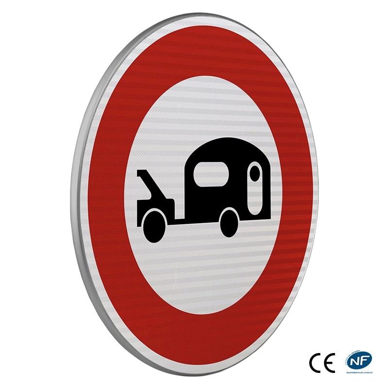 Panneau d 39 interdiction b9i acc s interdit aux v hicules - Panneau signalisation interdiction ...