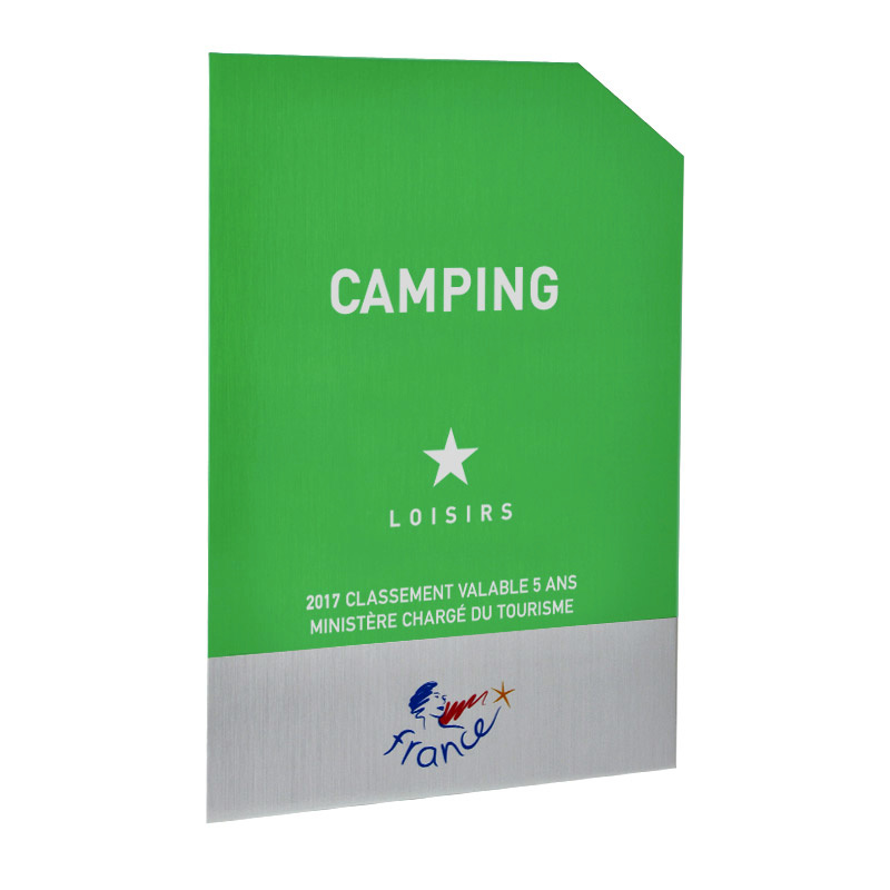 Panonceau Camping loisirs - 1 étoile