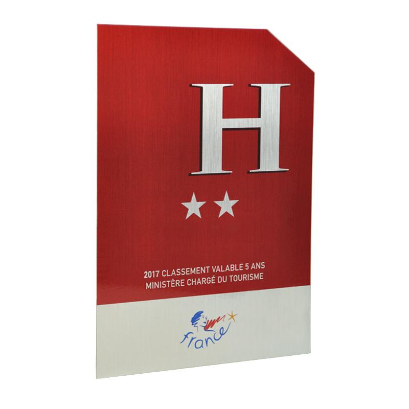 panonceau de classement h tel nouvelle plaque h tel 2