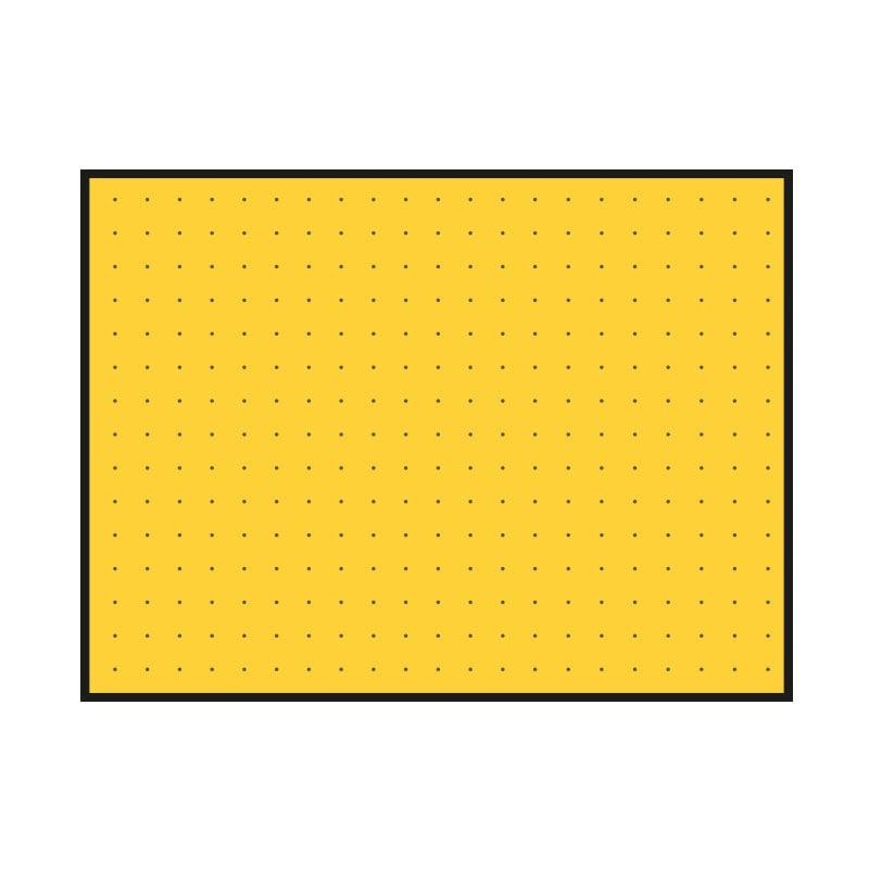 panneau de chantier composable btp fond jaune. Black Bedroom Furniture Sets. Home Design Ideas
